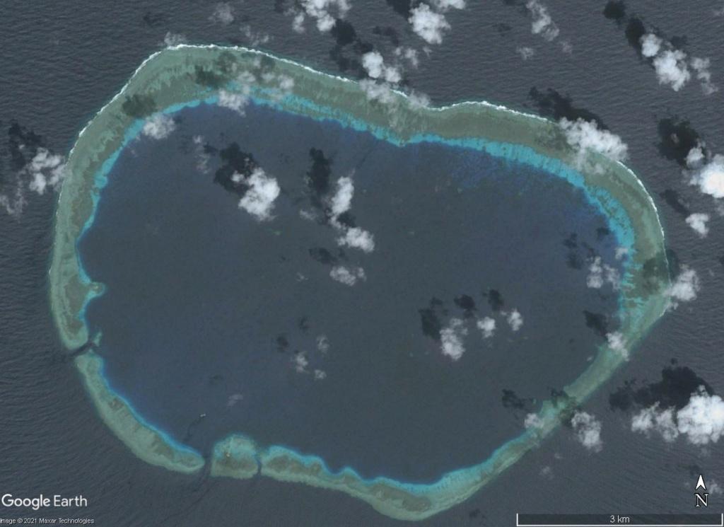 MER DE CHINE MERIDIONALE : la mainmise de la Chine... et le redécoupage des eaux territoriales 200410