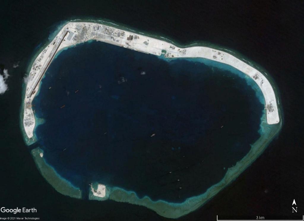 MER DE CHINE MERIDIONALE : la mainmise de la Chine... et le redécoupage des eaux territoriales 2004xx11