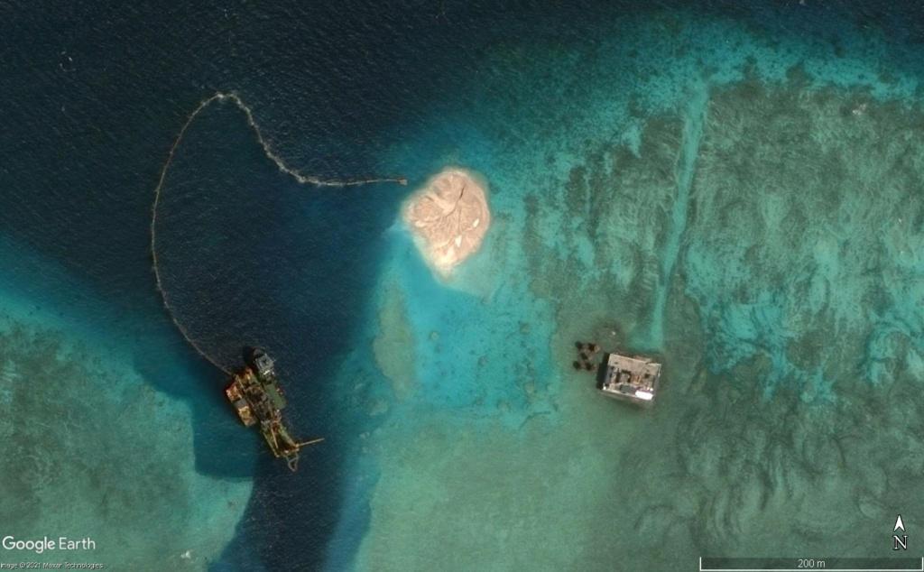 MER DE CHINE MERIDIONALE : la mainmise de la Chine... et le redécoupage des eaux territoriales 201510