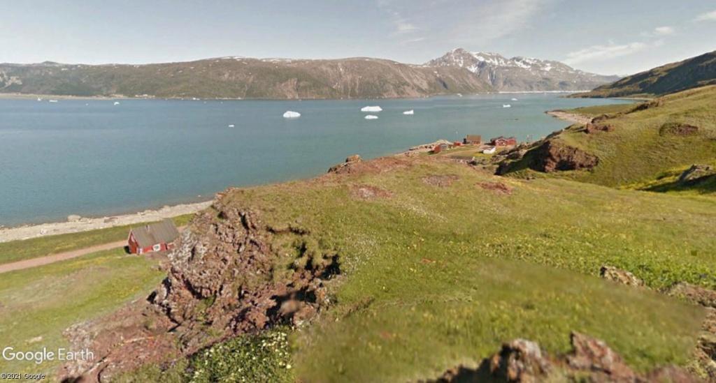Traversée d'Qassiarsuk vers Narsarsuaq, Kujalleq au Groenland. 2erik10