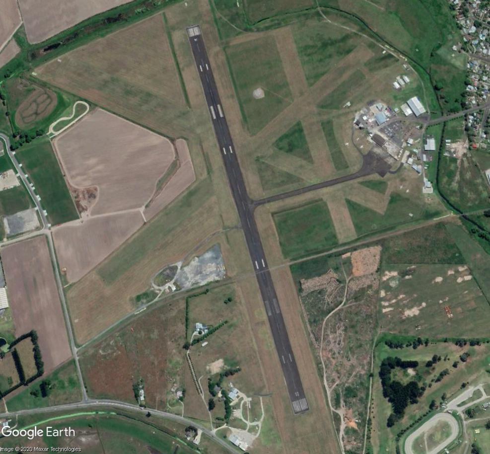 Aérodrome de Gisborne, Nouvelle Zélande : la bataille du rail et de l'air  Aero10