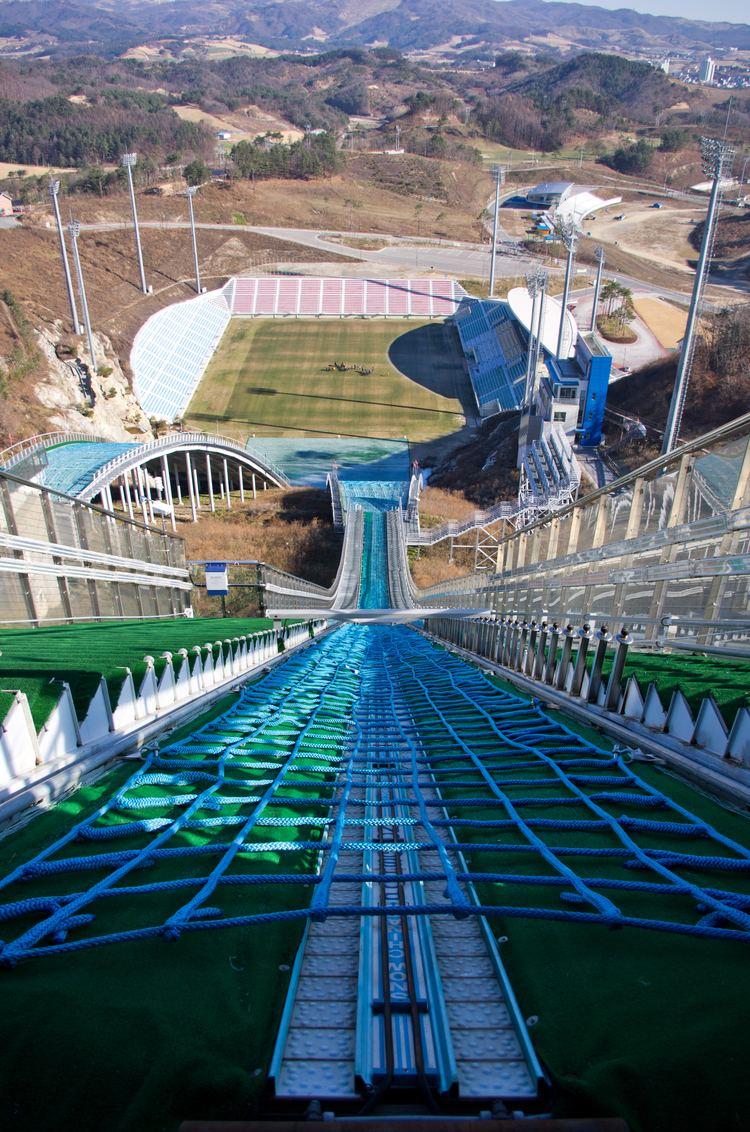 Terrain de foot de Pyeongchang : danger imminent ! Alpens10