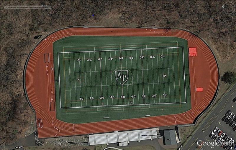 Stades d'athlétisme hors du commun Ap110