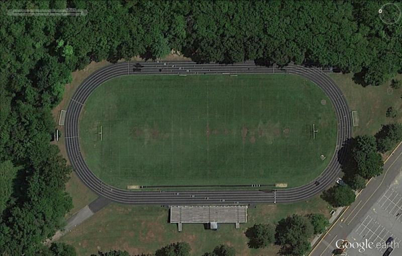 Stades d'athlétisme hors du commun Ap210