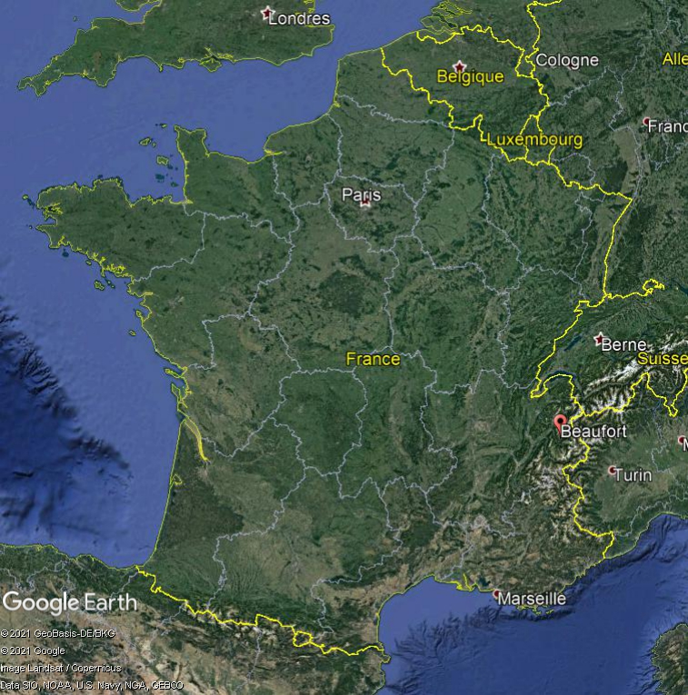 Les villages qui ont donné leur nom à un fromage (sujet touristique !) Beaufo10