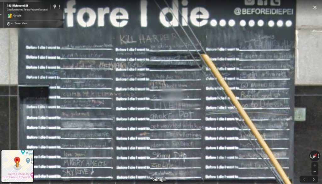 """Before I die, I want to..."" (avant de mourir, je veux...) Before11"