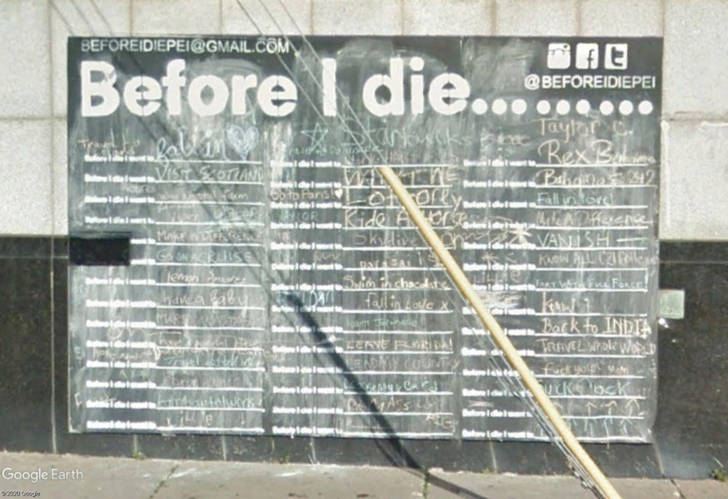 """""""Before I die, I want to..."""" (avant de mourir, je veux...) Before12"""