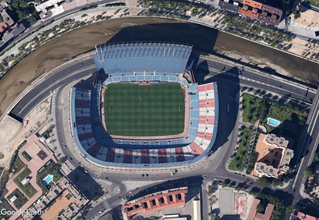 Stade Vicente Calderón, Madrid : du football à la Formule 1 ? Calder12