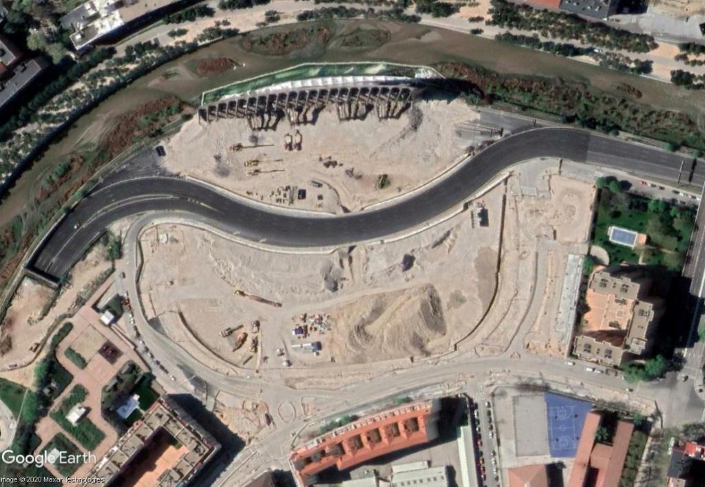 Stade Vicente Calderón, Madrid : du football à la Formule 1 ? Calder15