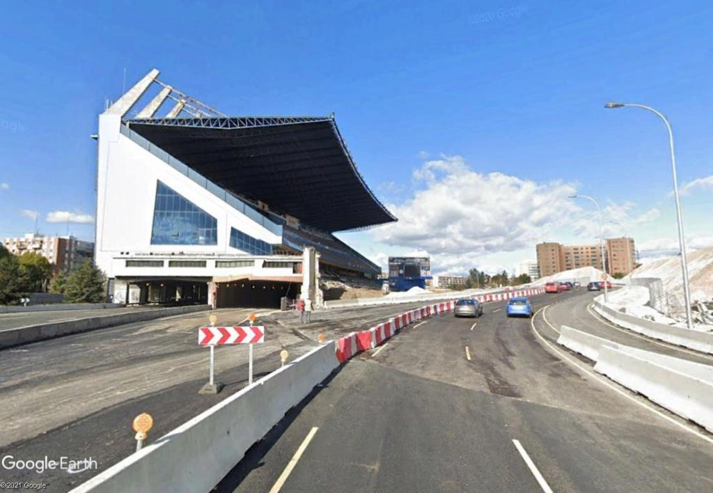 Stade Vicente Calderón, Madrid : du football à la Formule 1 ? Calder16