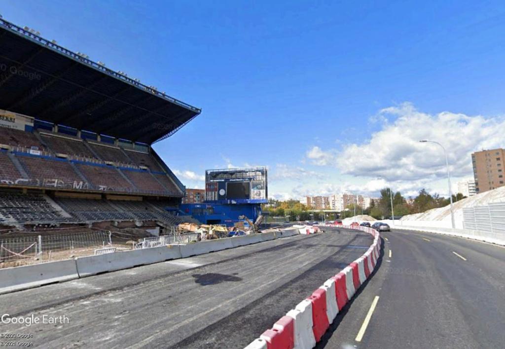Stade Vicente Calderón, Madrid : du football à la Formule 1 ? Calder18