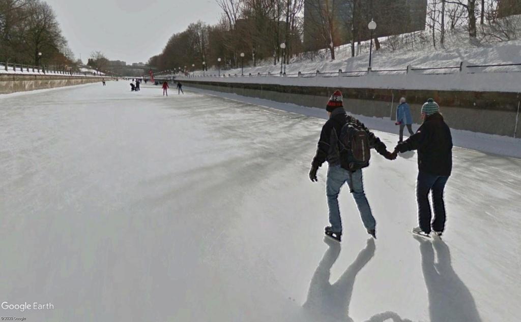La plus grande patinoire du monde Canal610