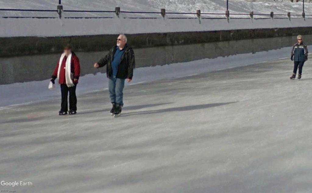 La plus grande patinoire du monde Canal710