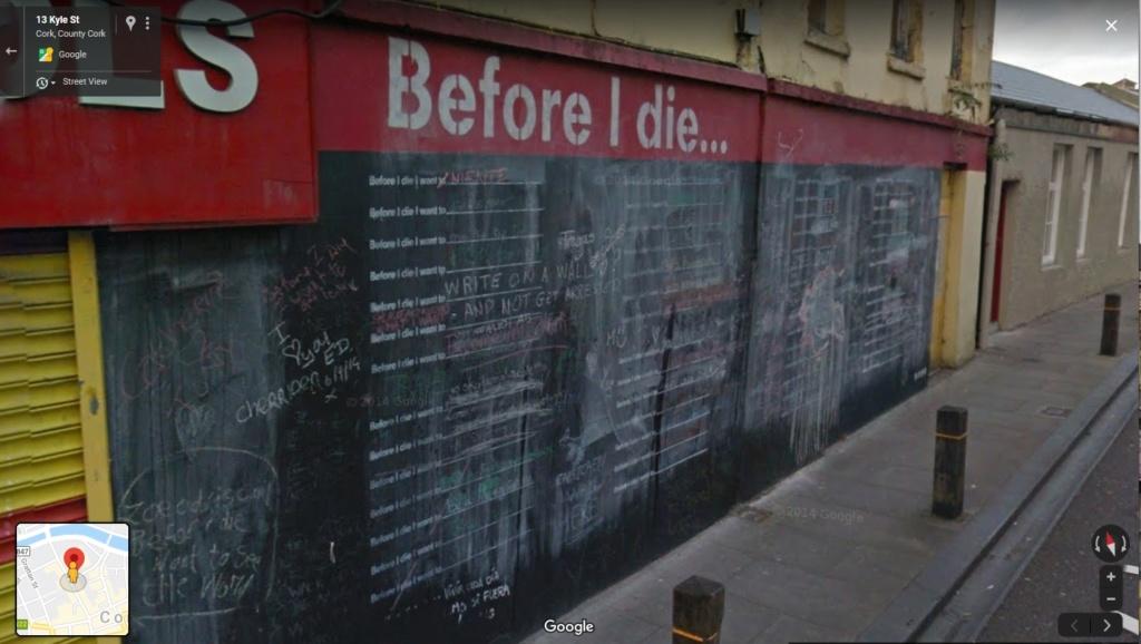"""Before I die, I want to..."" (avant de mourir, je veux...) Cork10"