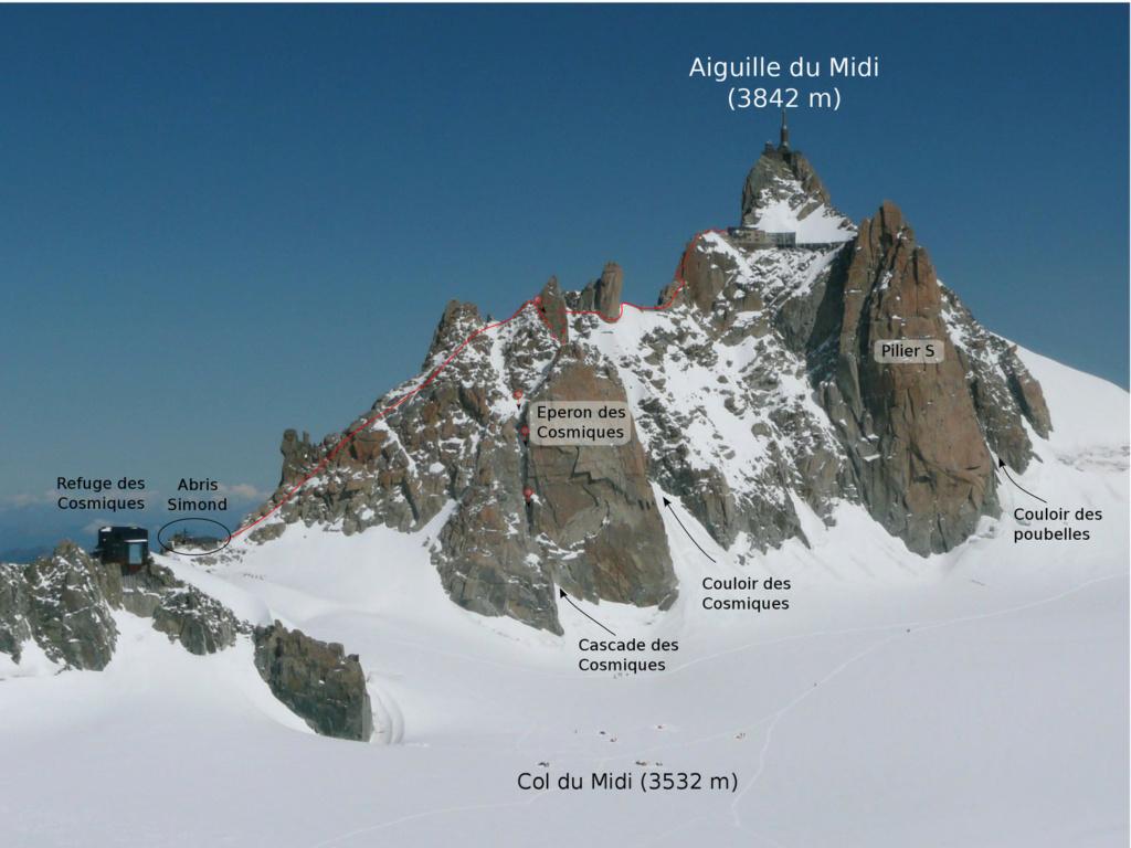 Le massif du Mont-Blanc en version sport de haute montagne Cosmiq10