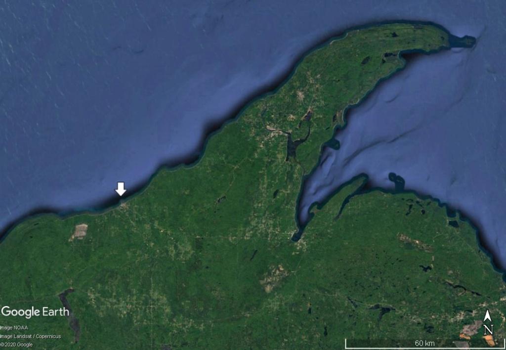 La rivière Ontonagon et le Pays du cuivre (Michigan)  Cuivre10