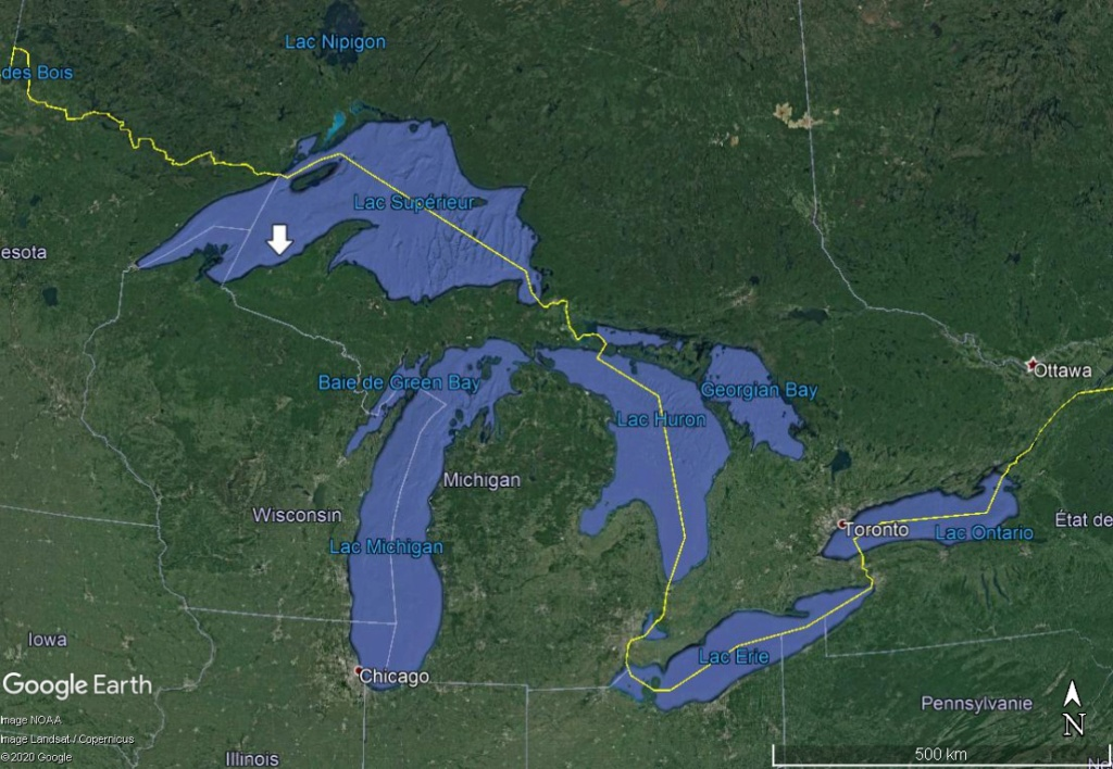 La rivière Ontonagon et le Pays du cuivre (Michigan)  Cuivre12