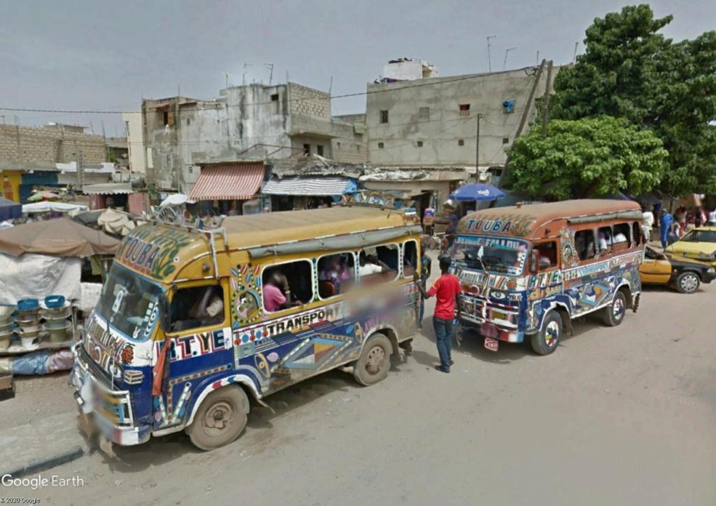 STREET VIEW : cars rapides et transports en commun du Sénégal Dak1210