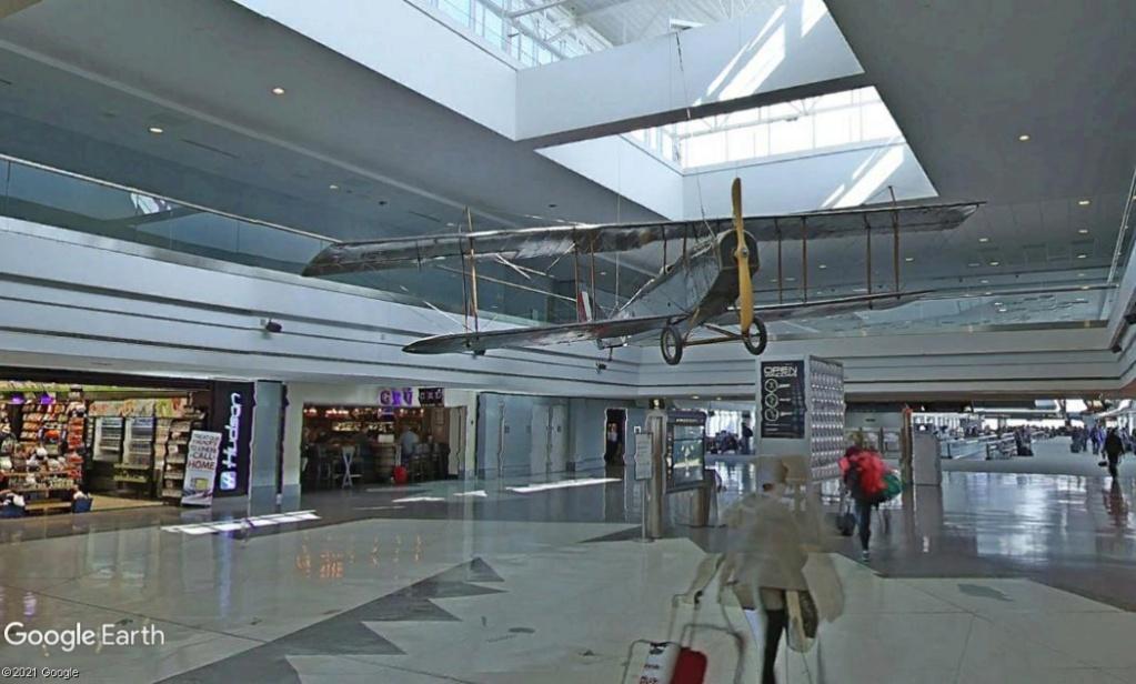 La décoration intérieure de l'aéroport international de Denver  Denver10