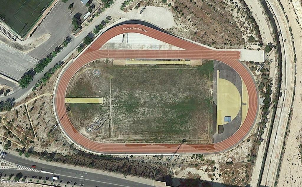 Stades d'athlétisme hors du commun Elda110