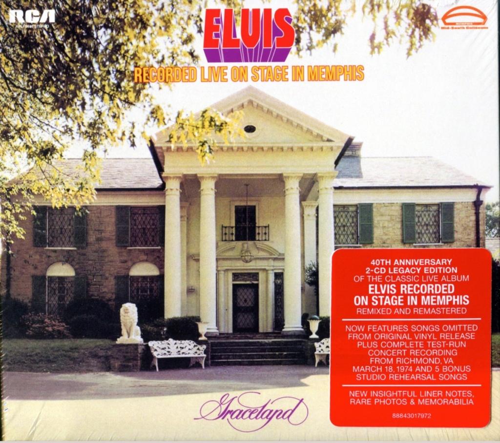 [STREET VIEW] Pochettes de disques dans leur milieu naturel - Page 2 Elvis_11
