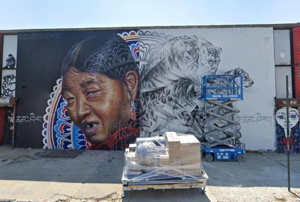 The Bushwick Collective : spot de street art à Brooklyn En_cou10