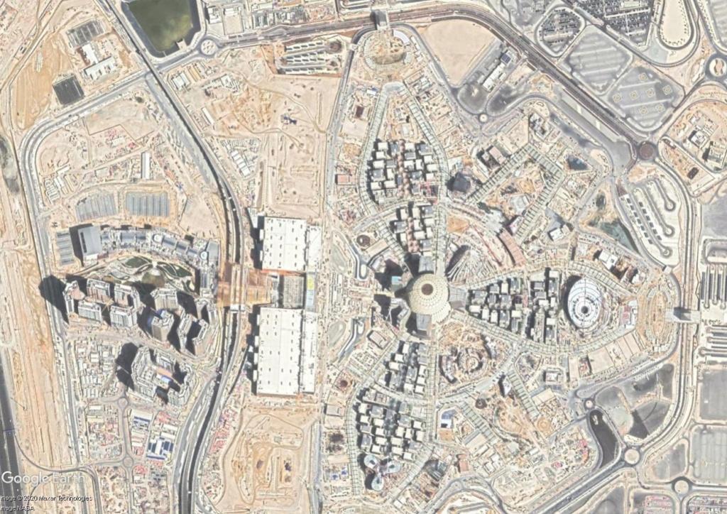 [Désormais visible dans Google Earth] L'Exposition Universelle 2020 à Dubaï - Émirats Arabes Unis  Expo11