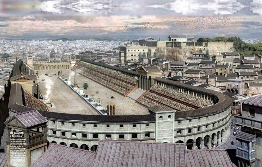 Les cirques romains : dans les traces de Ben-Hur Fggg10