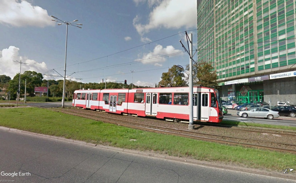 STREET VIEW : les tramways en action - Page 4 Gdansk12