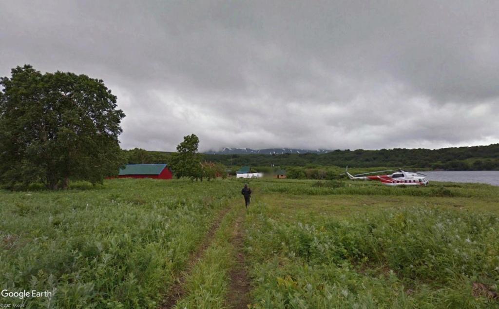 Ours (et saumons) dans le Kamtchatka Helico14