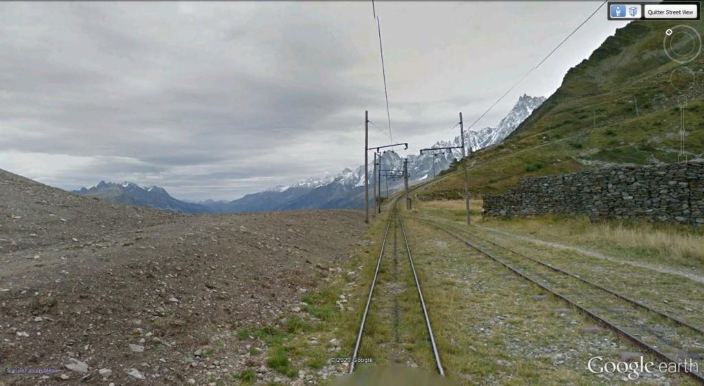 Le Tramway du Mont-Blanc : à l'assaut de la haute montagne Houche10