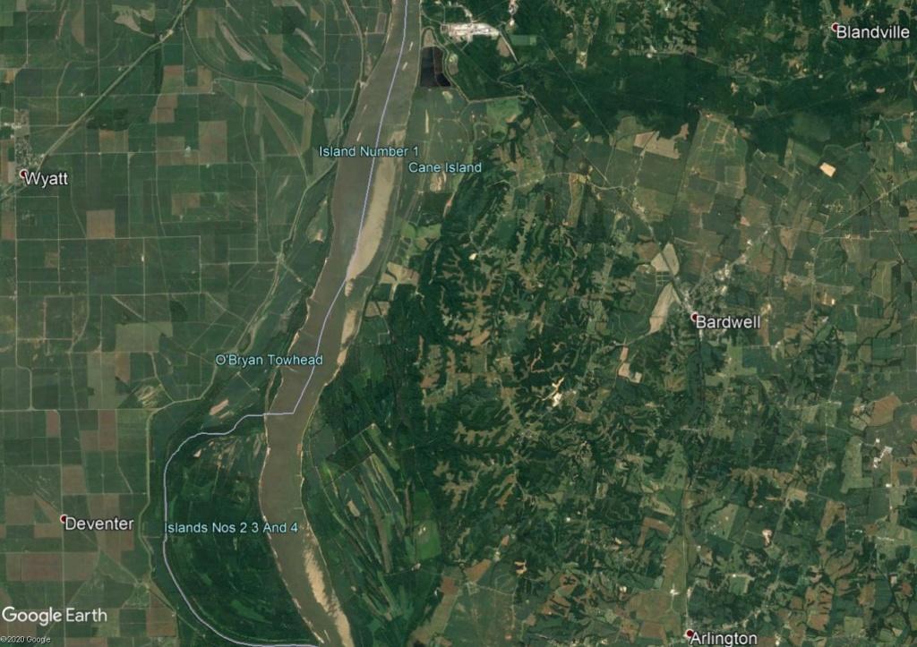 J'apprends à écrire les nombres en anglais sur le Mississippi Ile12310
