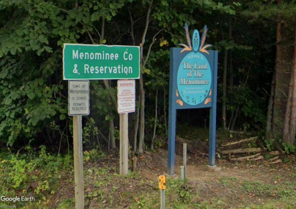 Une intrigante forêt dans le Wisconsin (Réserve indienne Menominee) Info10