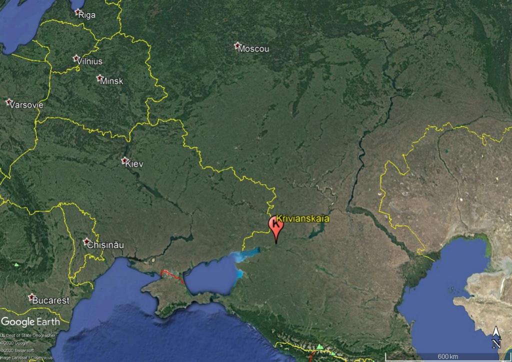 Krivianskaïa, bourg rural du sud de la Russie Krivia10