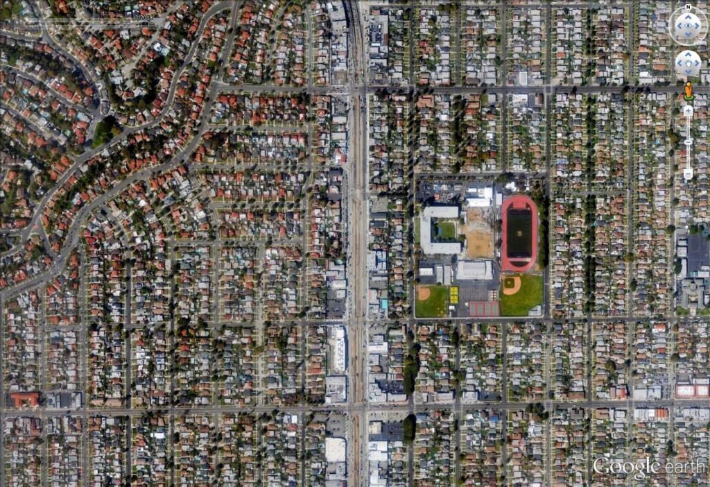 Los Angeles en photographie infrarouge Los210