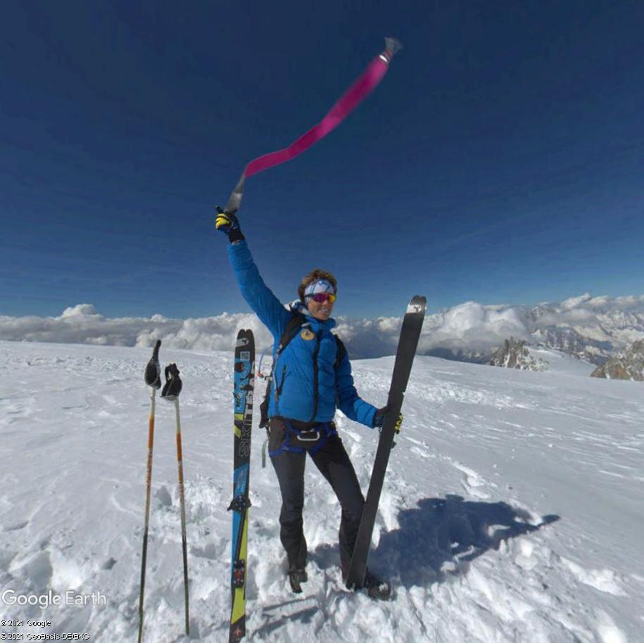 Le massif du Mont-Blanc en version sport de haute montagne Mb210