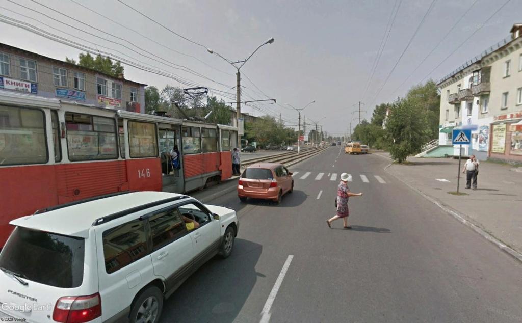 STREET VIEW : les tramways en action - Page 5 Mecani14