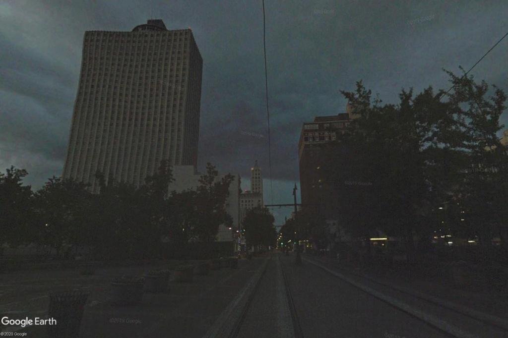 C'est beau Street View la nuit Memphi10