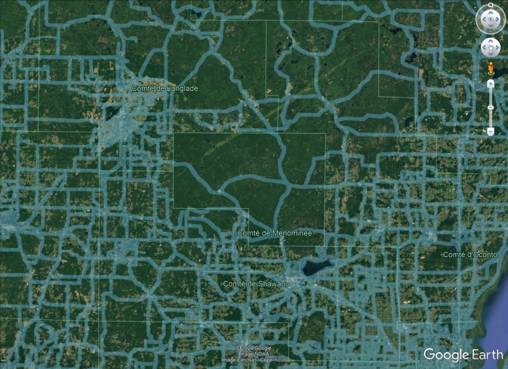 Une intrigante forêt dans le Wisconsin (Réserve indienne Menominee) Meno_s10