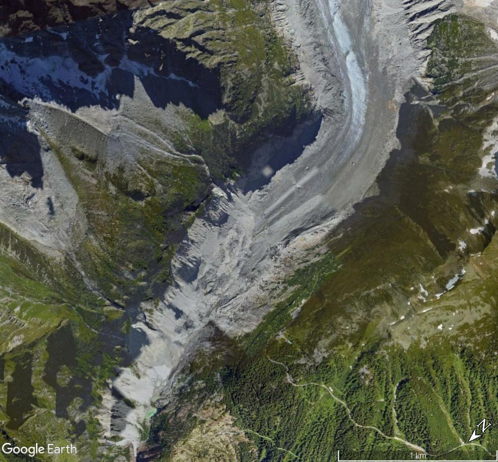 Mer de Glace : dernières photos avant disparition totale Mer_de11