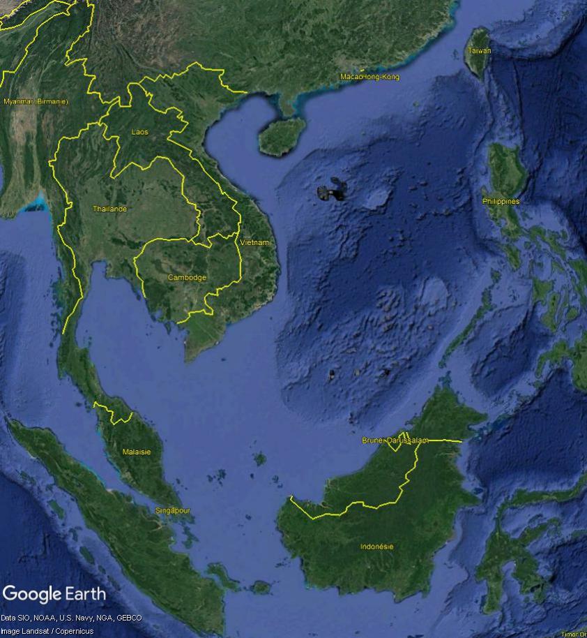 MER DE CHINE MERIDIONALE : la mainmise de la Chine... et le redécoupage des eaux territoriales Merchi15