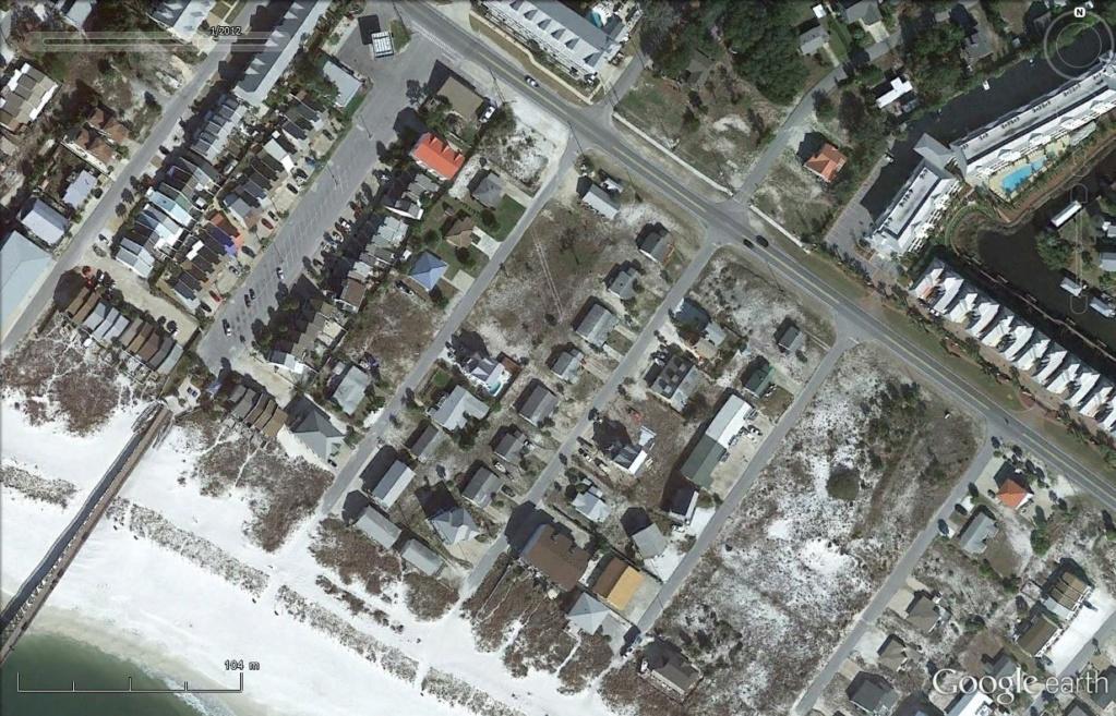 Mexico Beach : les dégâts de l'ouragan Michael  Mex110