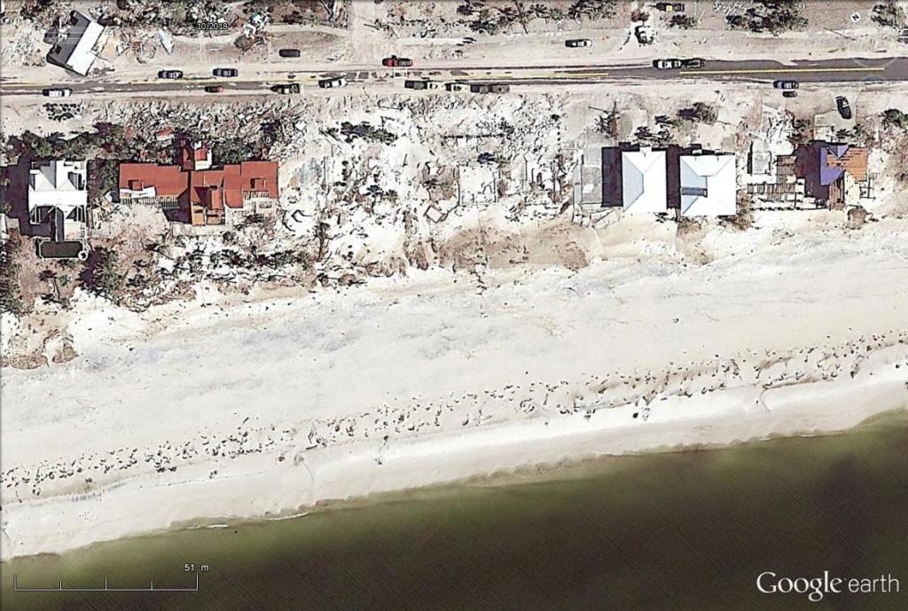 Mexico Beach : les dégâts de l'ouragan Michael  Mex1110