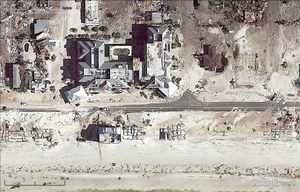 Mexico Beach : les dégâts de l'ouragan Michael  Mex710
