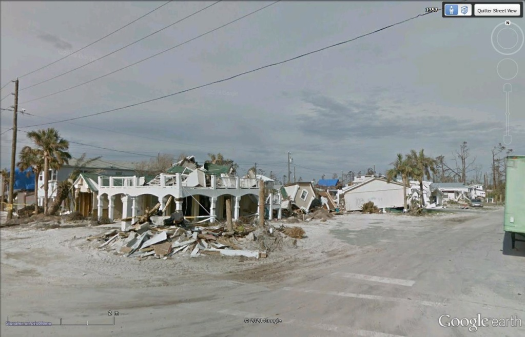 Mexico Beach : les dégâts de l'ouragan Michael  Mex8_410