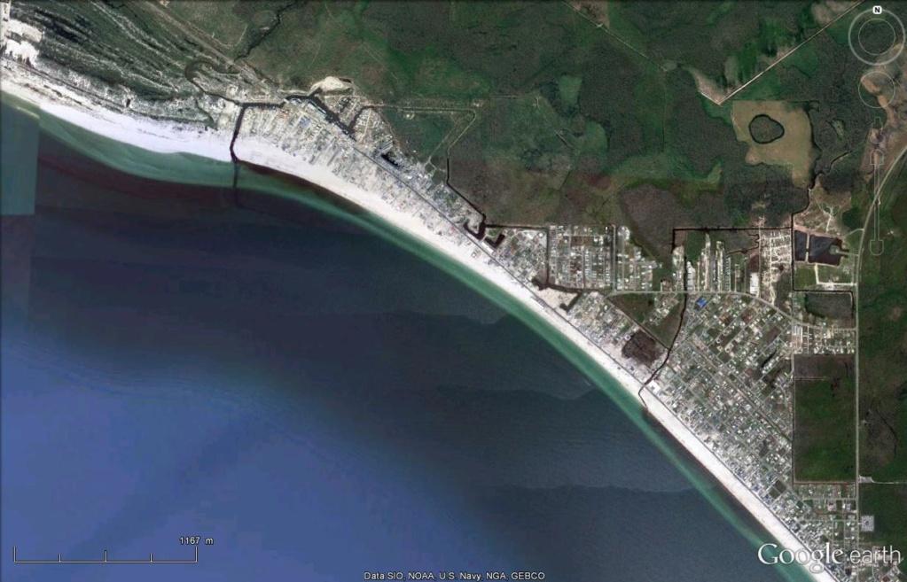 Mexico Beach : les dégâts de l'ouragan Michael  Mexico11