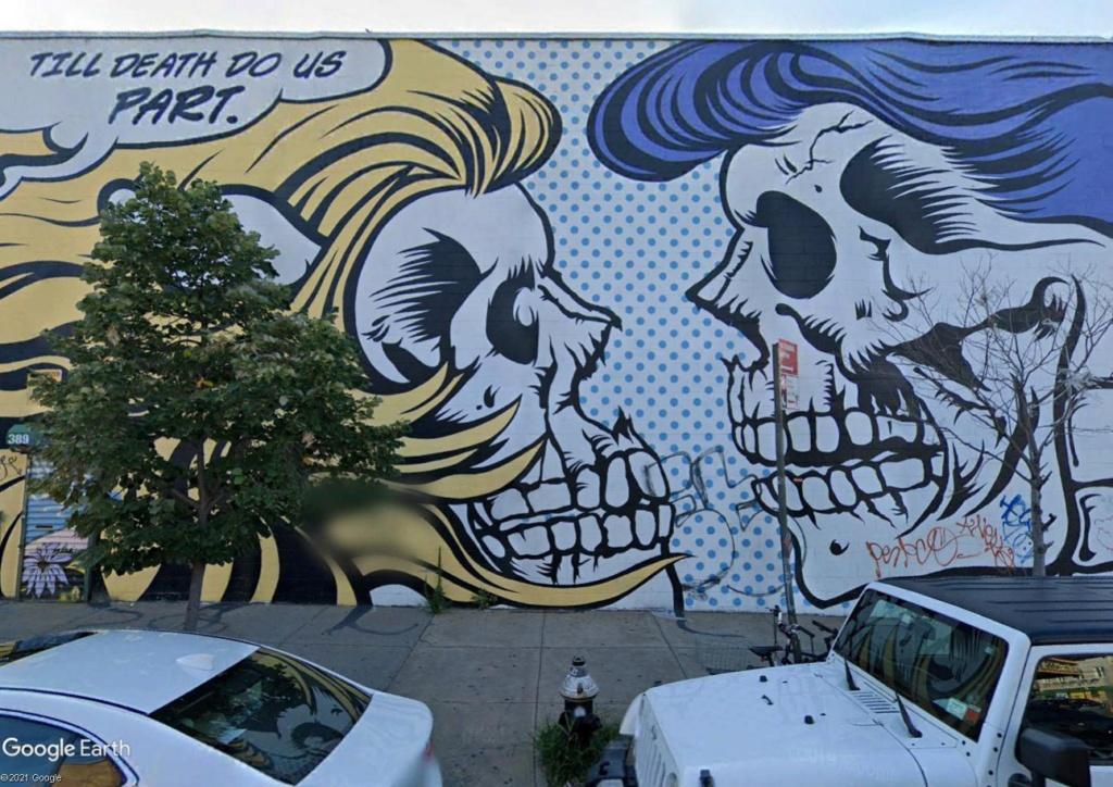 The Bushwick Collective : spot de street art à Brooklyn Mort10