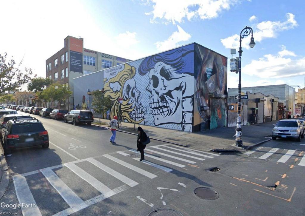 The Bushwick Collective : spot de street art à Brooklyn Morts10