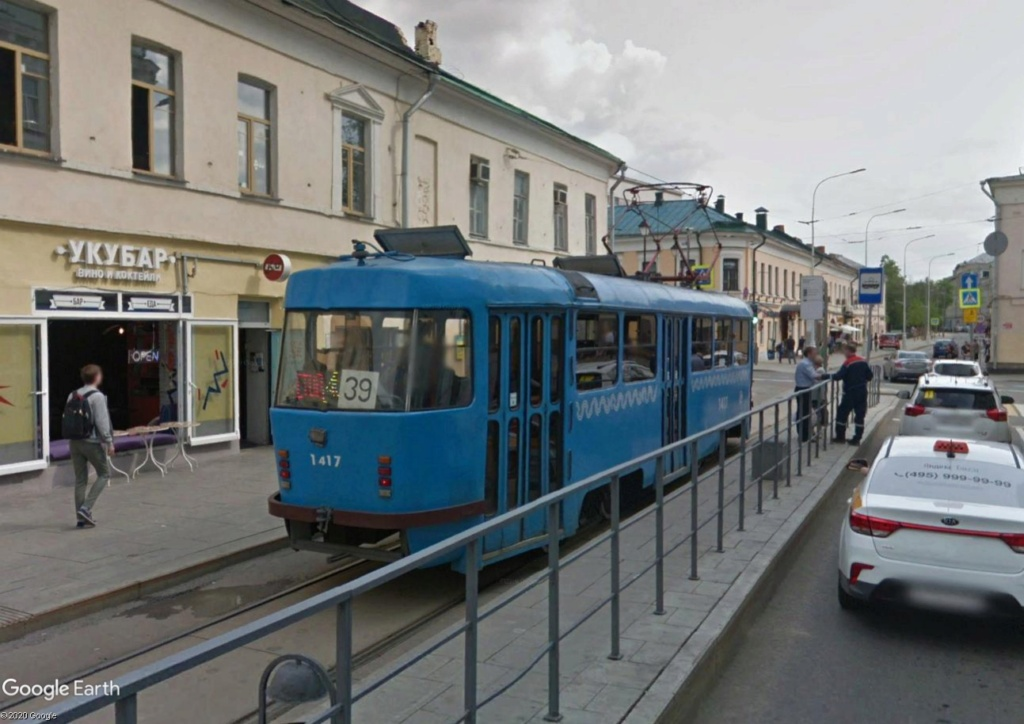 STREET VIEW : les tramways en action - Page 5 Mosc110