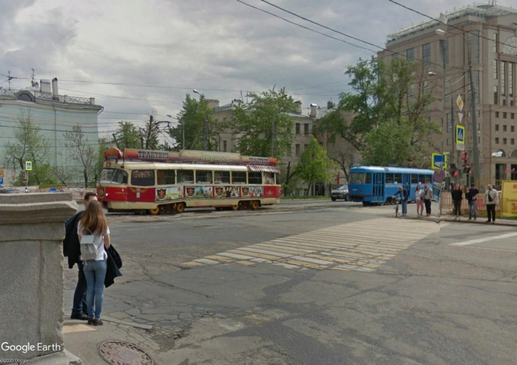 STREET VIEW : les tramways en action - Page 5 Mosc410